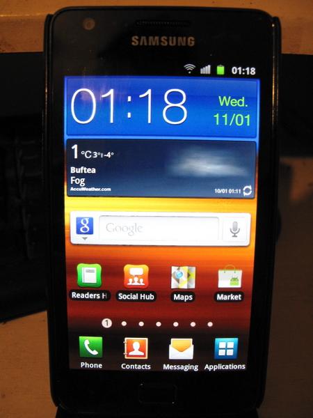 my Samsung Galaxy S II