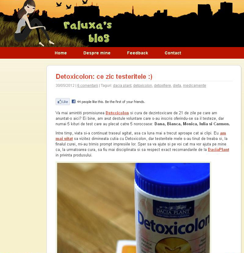 detoxicolon bloggeristic