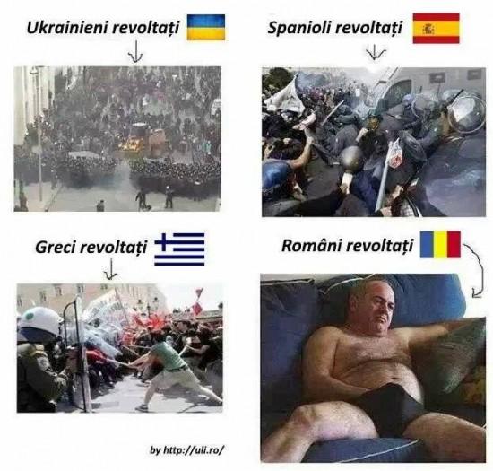 romani revoltati